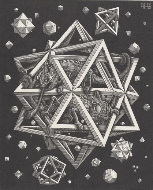Mostra di Escher a Pisa