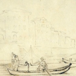 Je vous écris de Pise Pisa nell'album di una famiglia francese dell'Ottocento