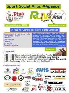 Run4Unity: sport per la pace