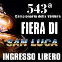 Fiera di San Luca ,573ª edizione -Pontedera