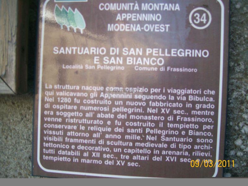 Frassinoro e San Pellegrino Modena-Lucca