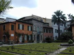 Die �lteste europ�ische Botanische Garten in Pisa