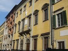 Das Geburtshaus von Galileo in Pisa