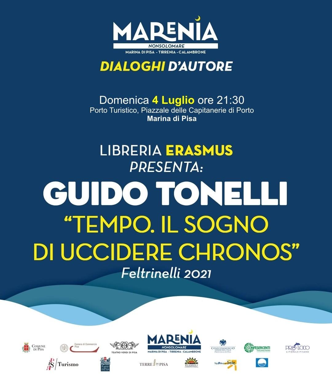 MARENIA: presentazione libro di Guido Tonelli
